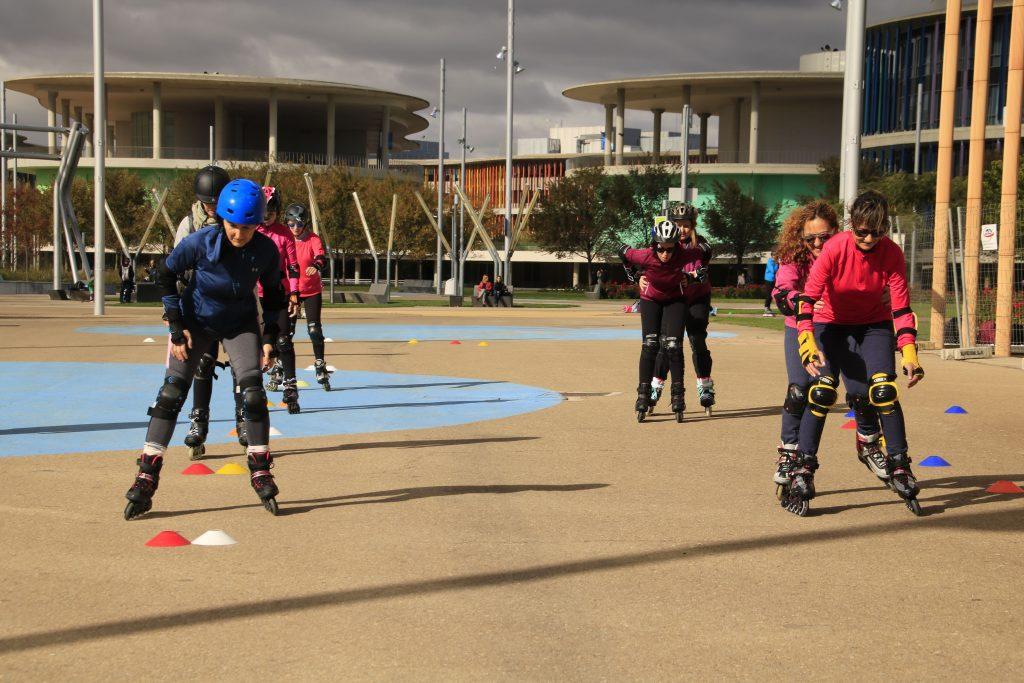 Curso de patinaje en Julio organizado por Skate Faster Zaragoza