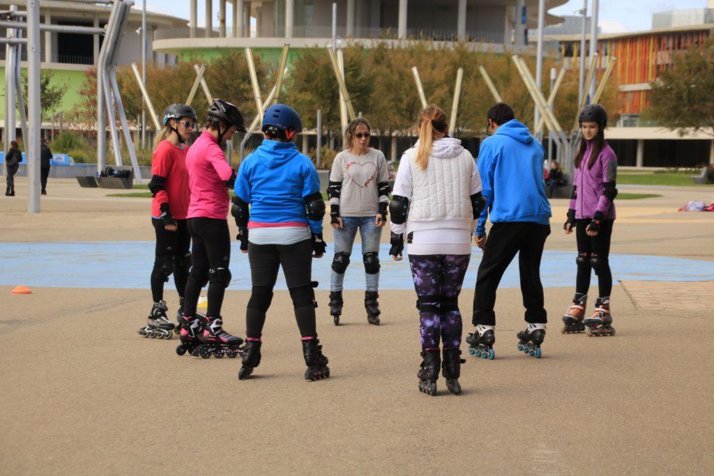 Escuela de patinaje en Zaragoza para grupos