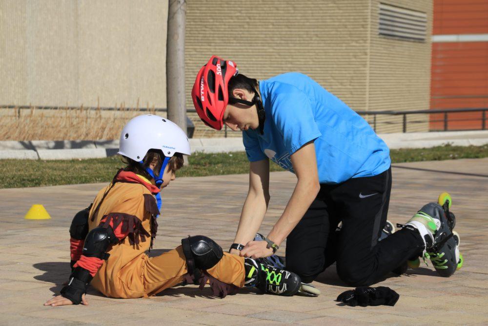 Escuela de patinaje para niños en Zaragoza
