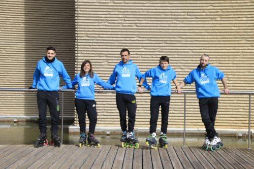 Escuela de patinaje en Zaragoza con profesores patinadores