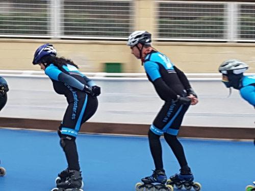 Escuela de patinaje de velocidad en Zaragoza
