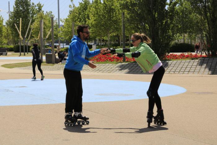 clases de patinaje particulares en zaragoza