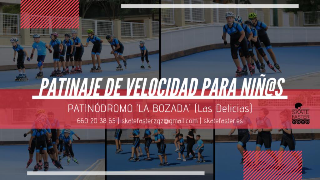 clases de patinaje de velocidad niños-zaragoza-skatefaster