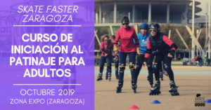 curso de patinaje para adultos en octubre en zaragoza con skatefaster