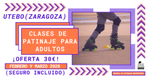 Clases de patinaje para adultos en Utebo con SkateFaster