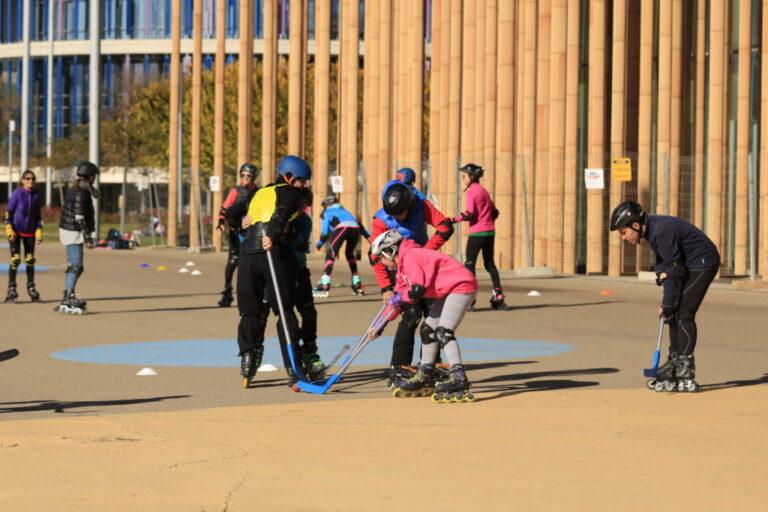 Clases de patinaje en el actur para niños y adultos patinar en zaragoza