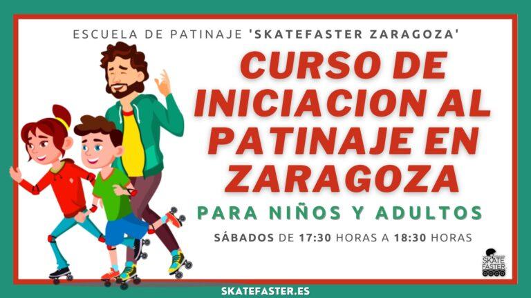 Curso de patinaje de iniciación para niños y adultos en Zaragoza aprender a patinar