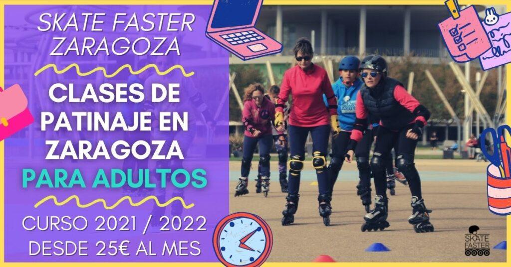 Clases de patinaje para adultos en zaragoza curso 2021