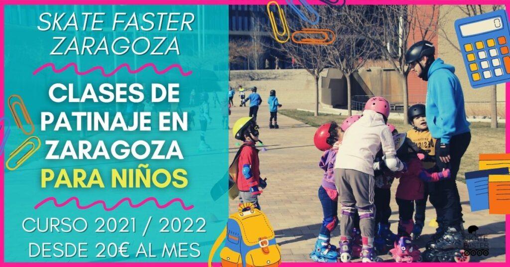 Clases de patinaje para niños en zaragoza curso 2021 escuela de patinaje Skatefaster