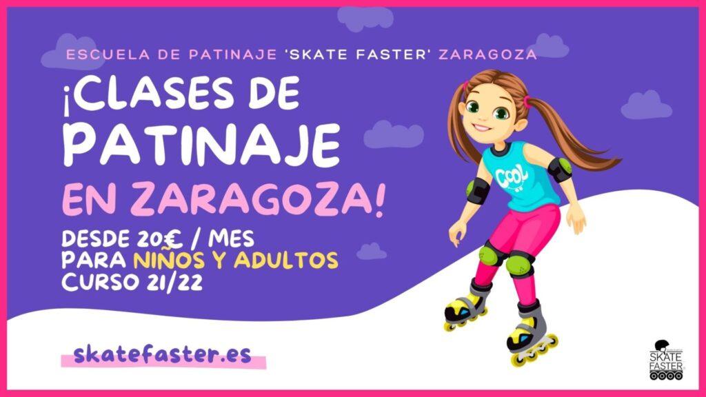 clases de patinaje en zaragoza curso 2021 para niños y adultos